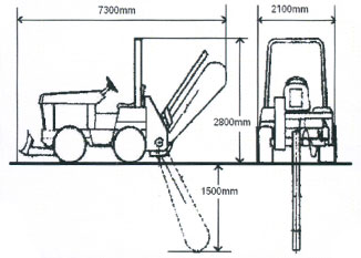 TrenchDigger 115hp-Specs